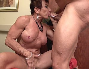 Hot muscle girl blowjob xxx juicy lips 10